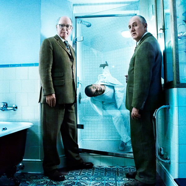 Gilbert and George with Jean